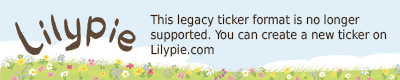 Lilypie Primer Cumplea�os Ticker